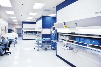In John Muir Medical Center surgical instruments and other inventory are stored in 12 Hänel Rotomat® in a state-of-the-art SPD.
